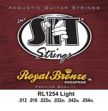 SIT Strings RL1254 Royal Bronze Acoustic Light, 12-54