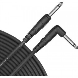 D'Addario Classic Series Instrument Cable, Right Angle Plug, 10 feet
