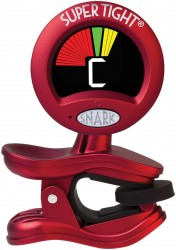 Snark ST-2 Super Tight Multi-Instrument Chromatic Tuner - Red