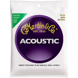 Martin M170 80/20 Bronze Extra Light Acoustic, 10-47