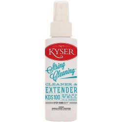 Kyser KDS100 Guitar String Cleaner and Lubricant 4 oz Bottle