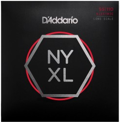 D'Addario NYXL55110 NYXL Bass Set Long Scale, Heavy, 55-110