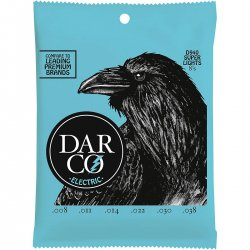 Darco D940 Premium Nickel Electric Strings, Super Lights, 8-38
