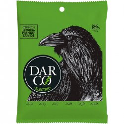 Darco D920 Premium Nickel Electric Strings, Lights, 10-46