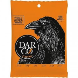 Darco D960 Premium Nickel Electric Strings, Light/Heavys, 10-52