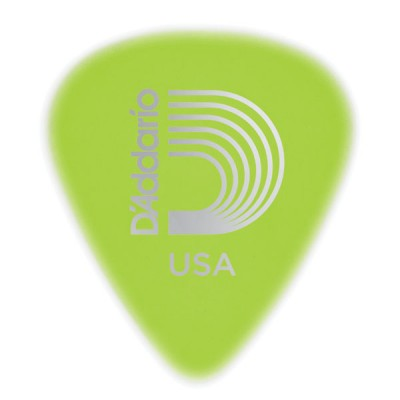 Planet Waves White-Color Celluloid Guitar Picks 10 pack Extra Heavy Wide Shape